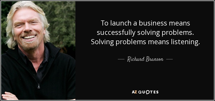 Richard Branson Business Advice