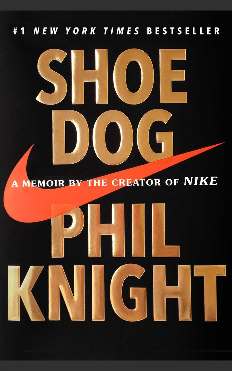 I recommend Shoe Dog by Phil Knight
